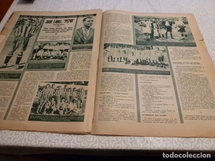 Coleccionismo deportivo: MARCA (14-9-43)FRANCO EN LAS REGATAS, VALENCIA 4 BARÇA 3,R.MADRID 5 HERCULES 3 (AMISTOSO) - Foto 9 - 223515526