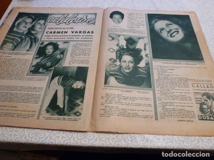 Coleccionismo deportivo: MARCA (14-9-43)FRANCO EN LAS REGATAS, VALENCIA 4 BARÇA 3,R.MADRID 5 HERCULES 3 (AMISTOSO) - Foto 11 - 223515526