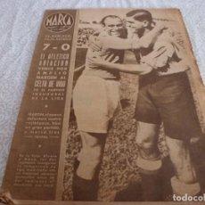 Coleccionismo deportivo: MARCA (28-9-43)AT.AVIACIÓN 7 CELTA 0,BARÇA 3 BILBAO 3,SEVILLA 5 SABADELL 2,ORIO,ANGEL DEL RIO. Lote 223515913
