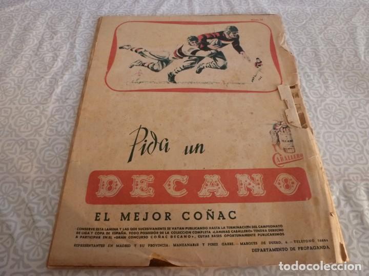 Coleccionismo deportivo: MARCA (9-1-45)BARÇA 2 AT.AVIACIÓN 2,SABADELL 1 VALENCIA 1,R.MADRID 4 OVIEDO 1,OLIVIA DE HAVILLAND. - Foto 15 - 223516171