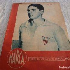 Coleccionismo deportivo: MARCA (6-3-45) EN COPA R.MADRID 2 SEVILLA 1,ESPAÑOL 3 BARACALDO 0,VALENCIA 2 ALCOYANO 2,CASTELLON. Lote 223516583