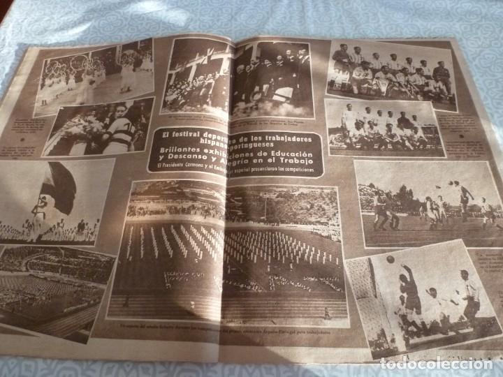 Coleccionismo deportivo: MARCA (21-6-49)!!! FRANCIA 1 ESPAÑA 5 !!! VALENCIA 5 SOCHAUX 2,ZARAGOZA 2 OPORTO 5 - Foto 6 - 223516801