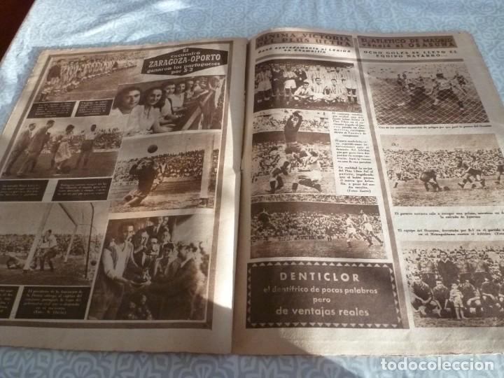 Coleccionismo deportivo: MARCA (21-6-49)!!! FRANCIA 1 ESPAÑA 5 !!! VALENCIA 5 SOCHAUX 2,ZARAGOZA 2 OPORTO 5 - Foto 9 - 223516801