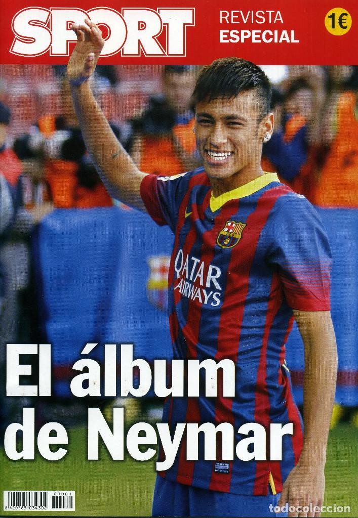 EL ÁLBUM DE NEYMAR (Coleccionismo Deportivo - Revistas y Periódicos - Sport)