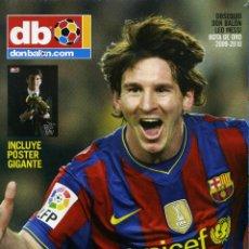 Coleccionismo deportivo: DON BALON - MESSI EL REY DEL GOL. Lote 223567411