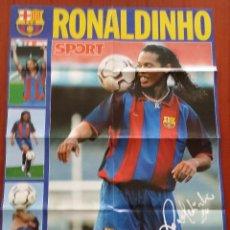 Coleccionismo deportivo: FC BARCELONA - RONALDINHO. Lote 223658191