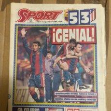Coleccionismo deportivo: 13-3-1994 FC BARCELONA ATLÉTICO MADRID ROMARIO. Lote 223811927