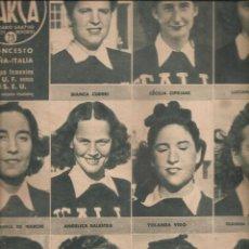 Coleccionismo deportivo: 2535. MARCA BALONCESTO Y TENIS FEMENINO 4 AGOSTO 1942. Lote 223970710