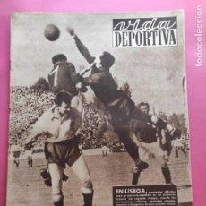 Coleccionismo deportivo: VIDA DEPORTIVA Nº 240 1950 PORTUGAL 2-2 CLASIFICACION MUNDIAL BRASIL 50 - UNIVERSIDAD CATOLICA CHILE. Lote 274252823