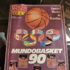 Coleccionismo deportivo: AS COLOR, MUNDOBASKET 90, ESPECIAL MUNDIAL DE ARGENTINA (N° 234, 5 DE AGOSTO 1990). Lote 224258670