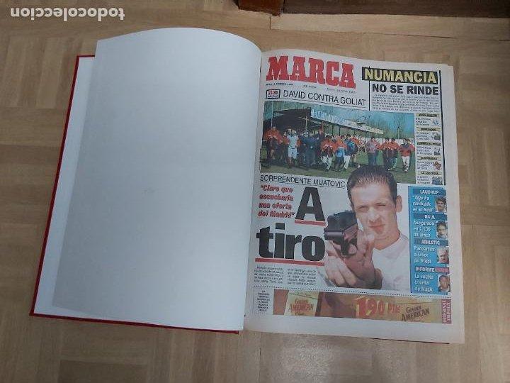 DIARIO MARCA MES DE FEBRERO 1996 - AÑO CAMPEON ATLETICO MADRID (Coleccionismo Deportivo - Revistas y Periódicos - Marca)