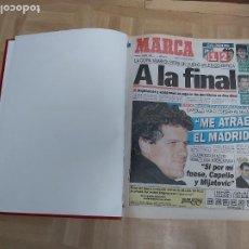 Colecionismo desportivo: DIARIO MARCA MES DE MARZO 1996 - AÑO CAMPEON LIGA Y COPA - ATLETICO MADRID. Lote 224361308