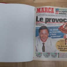 Colecionismo desportivo: DIARIO MARCA MES DE ABRIL 1996 - AÑO CAMPEON LIGA Y COPA - ATLETICO MADRID. Lote 224362170