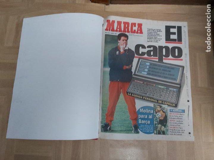 DIARIO MARCA MES DE MAYO 1996 - AÑO CAMPEON LIGA Y COPA - ATLETICO MADRID (Coleccionismo Deportivo - Revistas y Periódicos - Marca)