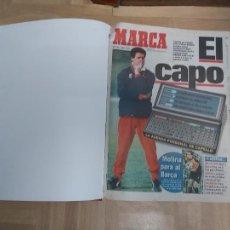 Colecionismo desportivo: DIARIO MARCA MES DE MAYO 1996 - AÑO CAMPEON LIGA Y COPA - ATLETICO MADRID. Lote 224366633