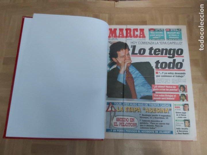 DIARIO MARCA MES DE JULIO 1996 - AÑO CAMPEON LIGA Y COPA - ATLETICO MADRID (Coleccionismo Deportivo - Revistas y Periódicos - Marca)