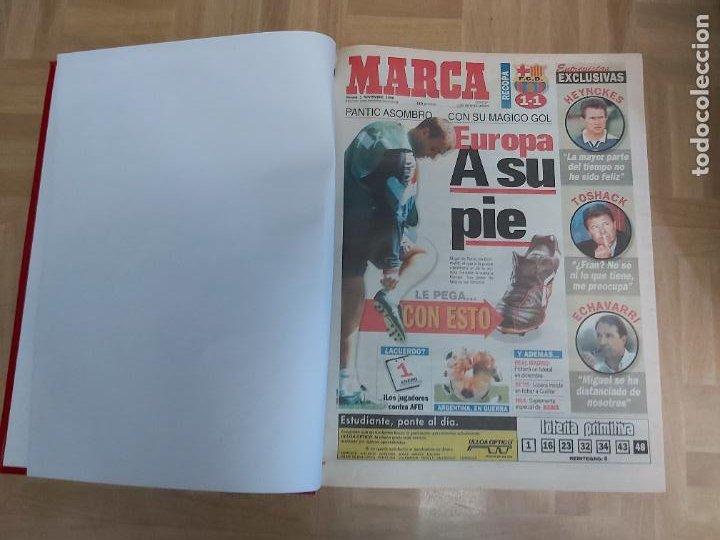 DIARIO MARCA MES DE NOVIEMBRE 1996 - AÑO CAMPEON LIGA REAL MADRID (Coleccionismo Deportivo - Revistas y Periódicos - Marca)
