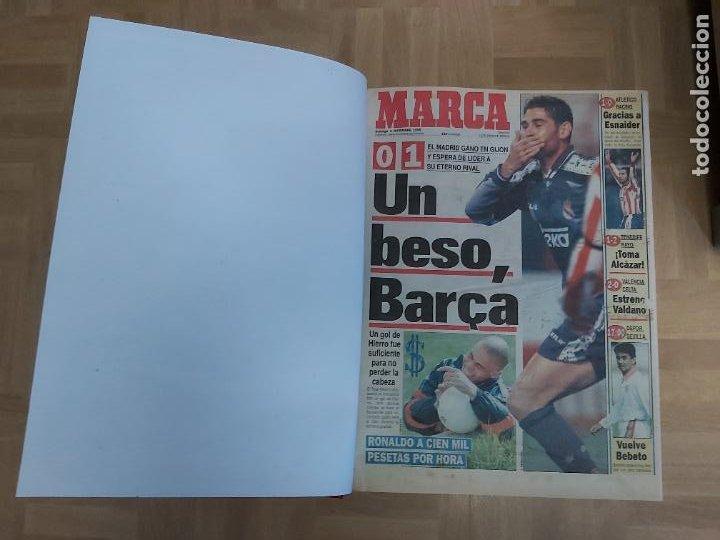 DIARIO MARCA MES DE DICIEMBRE 1996 - AÑO CAMPEON LIGA REAL MADRID (Coleccionismo Deportivo - Revistas y Periódicos - Marca)