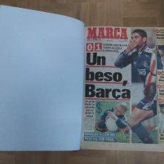 Colecionismo desportivo: DIARIO MARCA MES DE DICIEMBRE 1996 - AÑO CAMPEON LIGA REAL MADRID. Lote 224444080