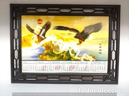 Coleccionismo deportivo: CURIOSO CALENDARI CHINO AÑO 2001 SOPORTE EN PLASTICO - Foto 13 - 224653437