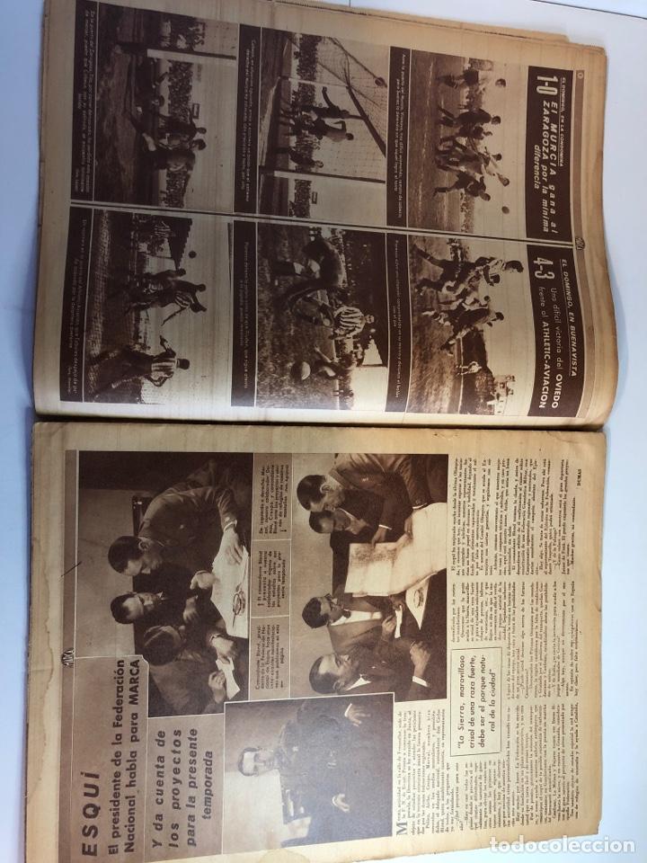 Coleccionismo deportivo: Marca semanario gráfico de los deportes 10 de diciembre 1940 número 96 - Foto 6 - 224986250