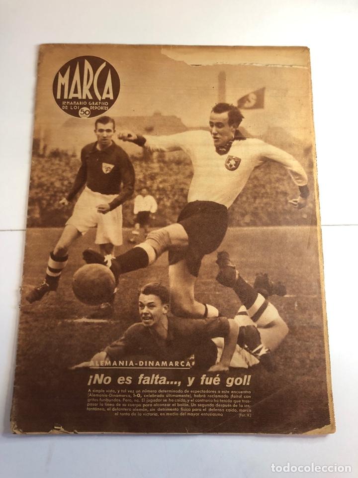 MARCA SEMANARIO GRÁFICO DE LOS DEPORTES 10 DE DICIEMBRE 1940 NÚMERO 96 (Coleccionismo Deportivo - Revistas y Periódicos - Marca)