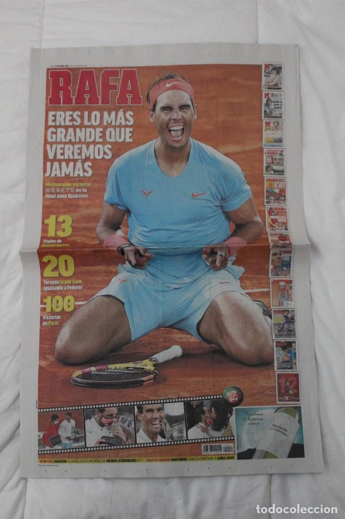 Coleccionismo deportivo: LOTE DIARIO MARCA RAFA NADAL LEYENDA ESPECIALES ROLAND GARROS DOCE Y TRECE.TENIS. - Foto 11 - 169311960