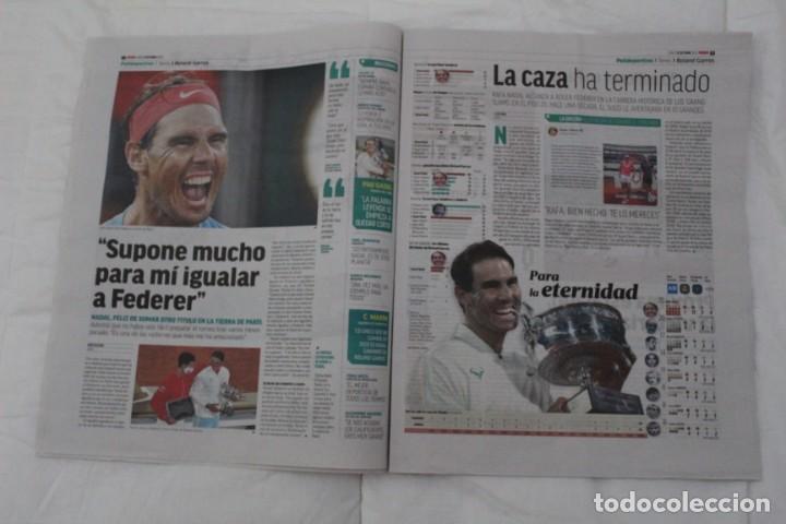 Coleccionismo deportivo: LOTE DIARIO MARCA RAFA NADAL LEYENDA ESPECIALES ROLAND GARROS DOCE Y TRECE.TENIS. - Foto 13 - 169311960