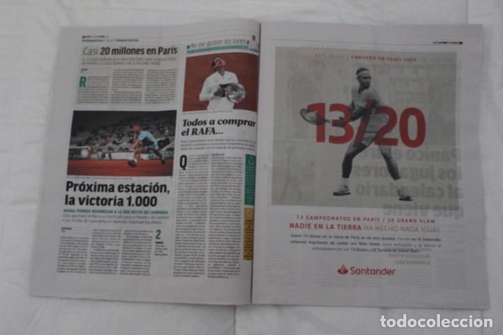 Coleccionismo deportivo: LOTE DIARIO MARCA RAFA NADAL LEYENDA ESPECIALES ROLAND GARROS DOCE Y TRECE.TENIS. - Foto 14 - 169311960