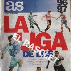Coleccionismo deportivo: AS SUPLEMENTO ESPECIAL LIGA 1996/97. Lote 226358422