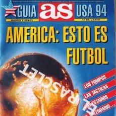 Coleccionismo deportivo: GUIA AS USA 94. Lote 226359850