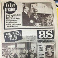 Coleccionismo deportivo: AS (11-7-1979) ZOETEMELK HINAULT ROSSI MUHAMMAD ALI. Lote 226365385