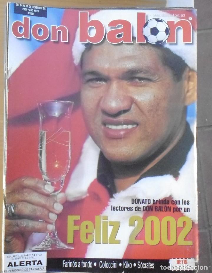 40 REVISTAS DEPORTIVAS DON BALON DEL AÑO 2001 (Coleccionismo Deportivo - Revistas y Periódicos - Don Balón)