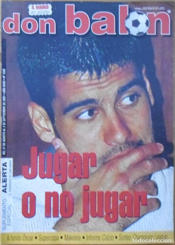 REVISTAS DEPORTIVAS DON BALON DEL AÑO 2001 Nº 1350 (Coleccionismo Deportivo - Revistas y Periódicos - Don Balón)