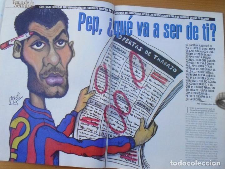 Coleccionismo deportivo: revistas deportivas DON BALON DEL AÑO 2001 Nº 1350 - Foto 2 - 226493655