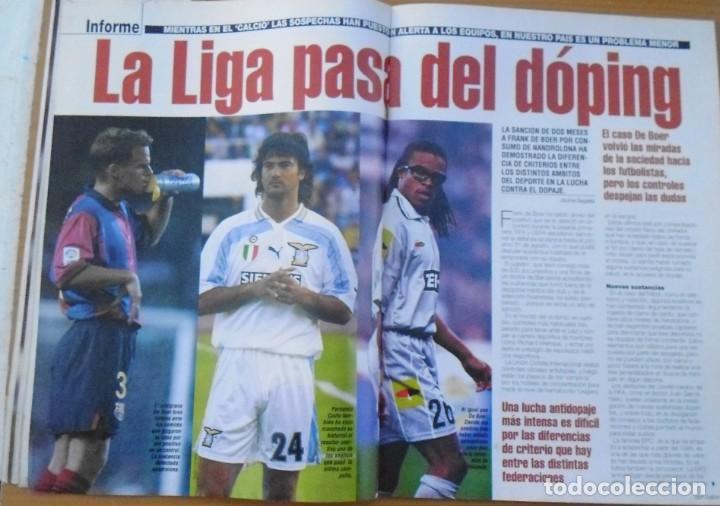 Coleccionismo deportivo: revistas deportivas DON BALON DEL AÑO 2001 Nº 1350 - Foto 3 - 226493655