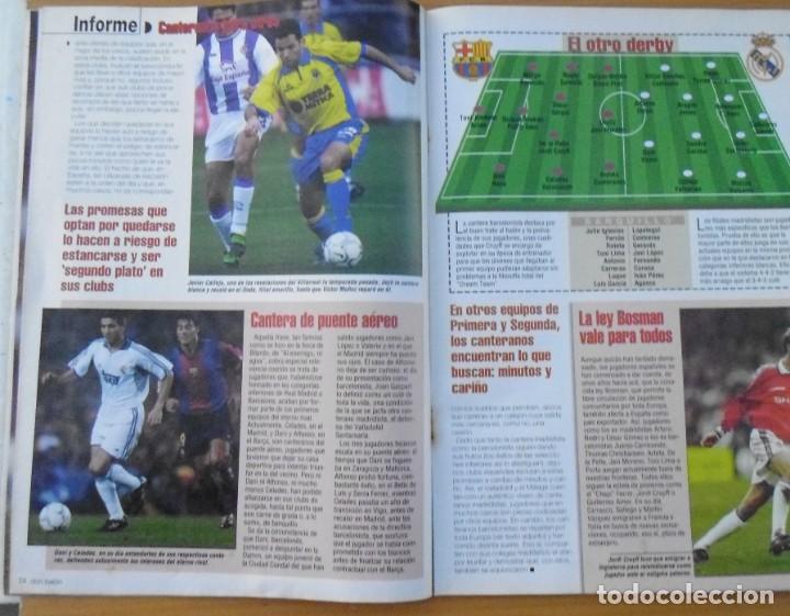 Coleccionismo deportivo: revistas deportivas DON BALON DEL AÑO 2001 Nº 1350 - Foto 4 - 226493655