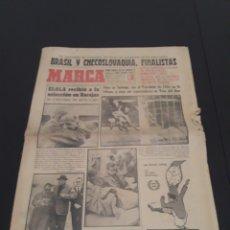Coleccionismo deportivo: 14/06/1962. MUNDIAL DEL 62 SEMIFINALES: CHILE BRASIL CHECOSLOVAQUIA YUGOSLAVIA. Lote 226558615