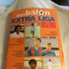 Colecionismo desportivo: DON BALÓN EXTRA LIGA 85-86. Lote 226601165