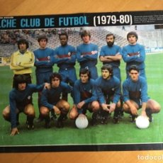 Collectionnisme sportif: AS COLOR POSTER A4 ELCHE 79-80. Lote 196799640