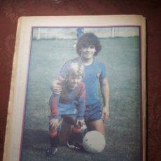 Collectionnisme sportif: DIARIO SPORT N° 35 . 20 DE AGOSTO DE 1982 MARADONA A ESCENA .. Lote 226948410