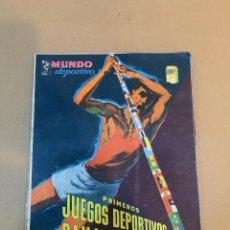 Coleccionismo deportivo: MUNDO DEPORTIVO N.º 100 / PRIMEROS JUEGOS DEPORTIVOS PANAMERICANO. Lote 226953550