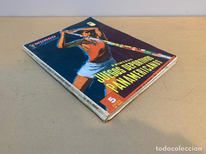 Coleccionismo deportivo: MUNDO DEPORTIVO N.º 100 / PRIMEROS JUEGOS DEPORTIVOS PANAMERICANO - Foto 2 - 226953550