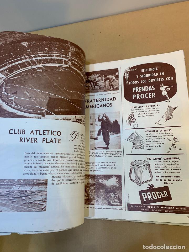 Coleccionismo deportivo: MUNDO DEPORTIVO N.º 100 / PRIMEROS JUEGOS DEPORTIVOS PANAMERICANO - Foto 10 - 226953550