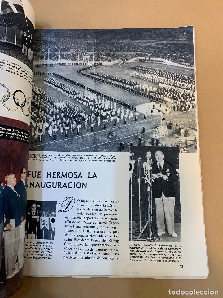Coleccionismo deportivo: MUNDO DEPORTIVO N.º 100 / PRIMEROS JUEGOS DEPORTIVOS PANAMERICANO - Foto 19 - 226953550