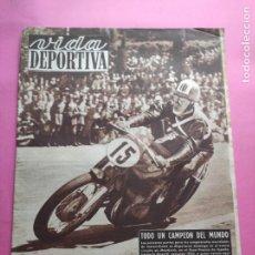 Coleccionismo deportivo: VIDA DEPORTIVA Nº 291 1951 LIGA 50/51 ESPANYOL 4-2 MALAGA SEVILLA 4-0 BARÇA - MOTOCICLISMO MONTJUICH. Lote 226956897
