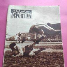 Collectionnisme sportif: VIDA DEPORTIVA Nº 292 1951 LIGA 50/51 RCD ESPANYOL 6-0 BARÇA SARRIA - REAL VALLADOLID 4-2 LERIDA. Lote 226957255