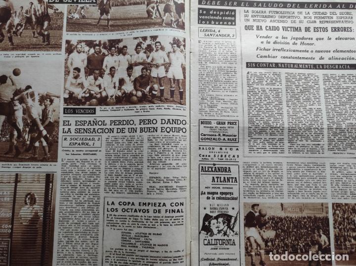 Coleccionismo deportivo: VIDA DEPORTIVA Nº 293 ATLETICO DE MADRID CAMPEON LIGA FUTBOL 1950/1951 - ATLETI 50/51 - Foto 4 - 226957536