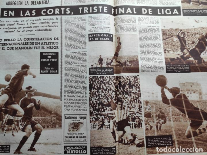 Coleccionismo deportivo: VIDA DEPORTIVA Nº 293 ATLETICO DE MADRID CAMPEON LIGA FUTBOL 1950/1951 - ATLETI 50/51 - Foto 5 - 226957536