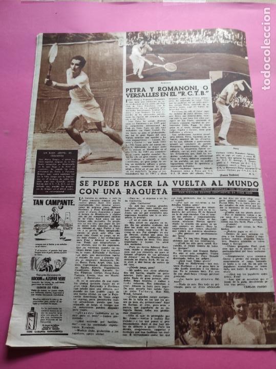 Coleccionismo deportivo: VIDA DEPORTIVA Nº 293 ATLETICO DE MADRID CAMPEON LIGA FUTBOL 1950/1951 - ATLETI 50/51 - Foto 6 - 226957536